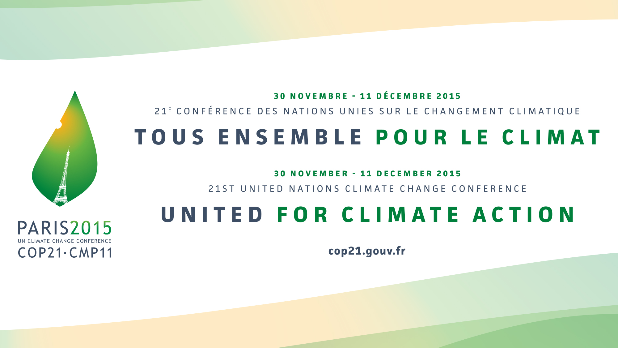COP 21 SVT conférence 2015