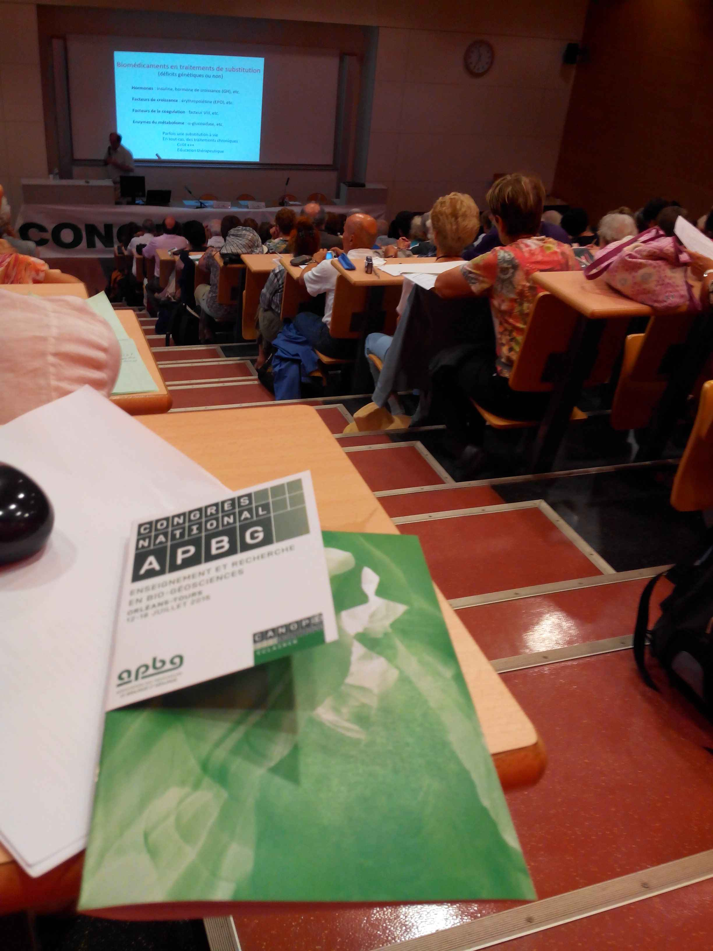 Congrès National de l'APBG