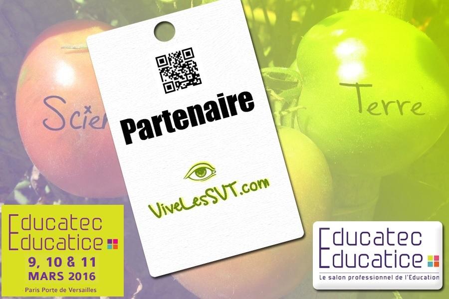 partenariat-vivelesSVT-salon-de-léducation-Educatec-Educatice-2015