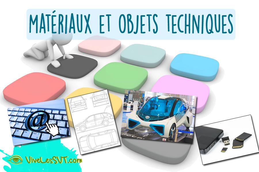 matériaux objets techniques programme cycle 3