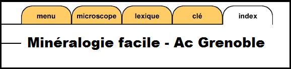 site minéralogie facile académie grenoble SVT
