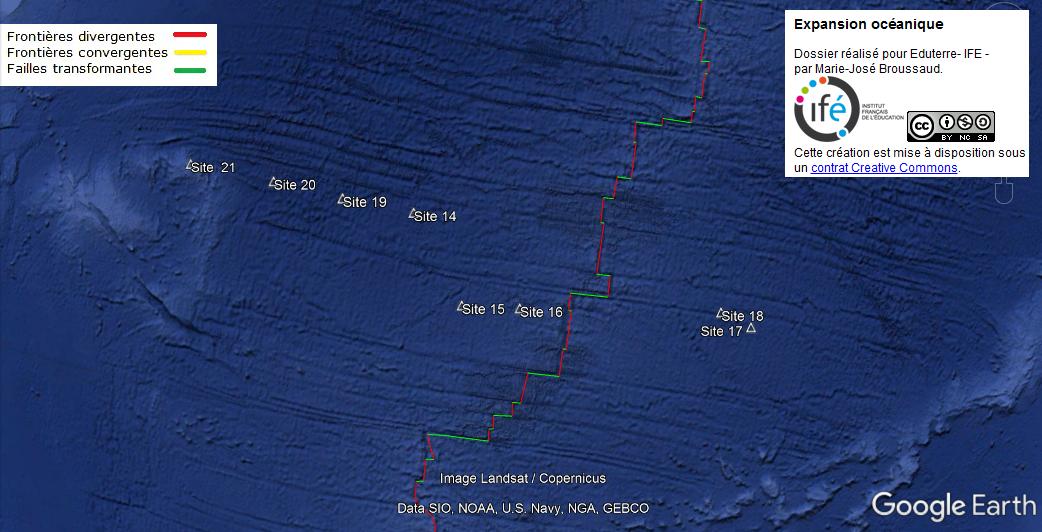 expansion océanique SVT 1S