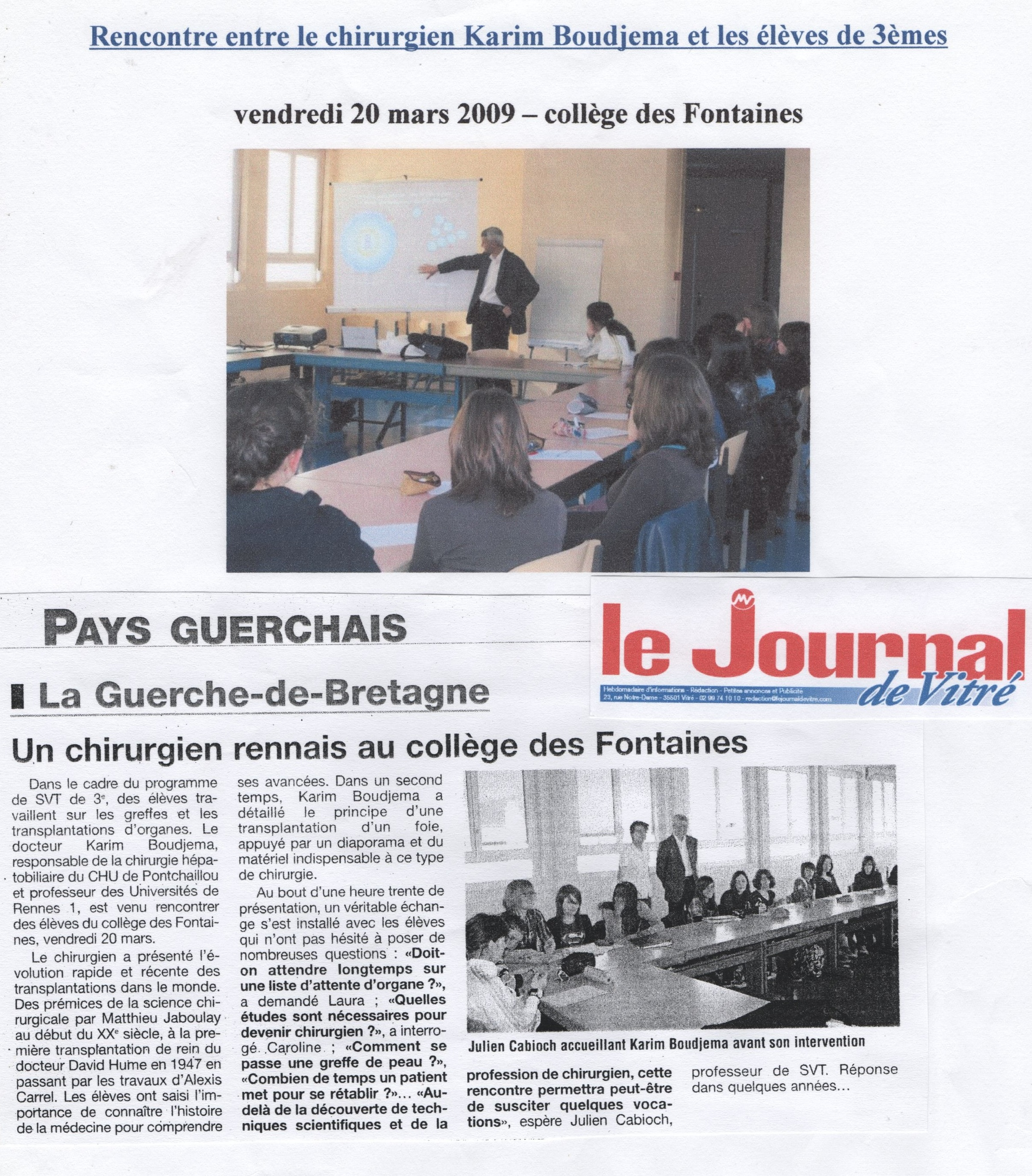 Revue de Presse Partie 1 – Julien Cabioch