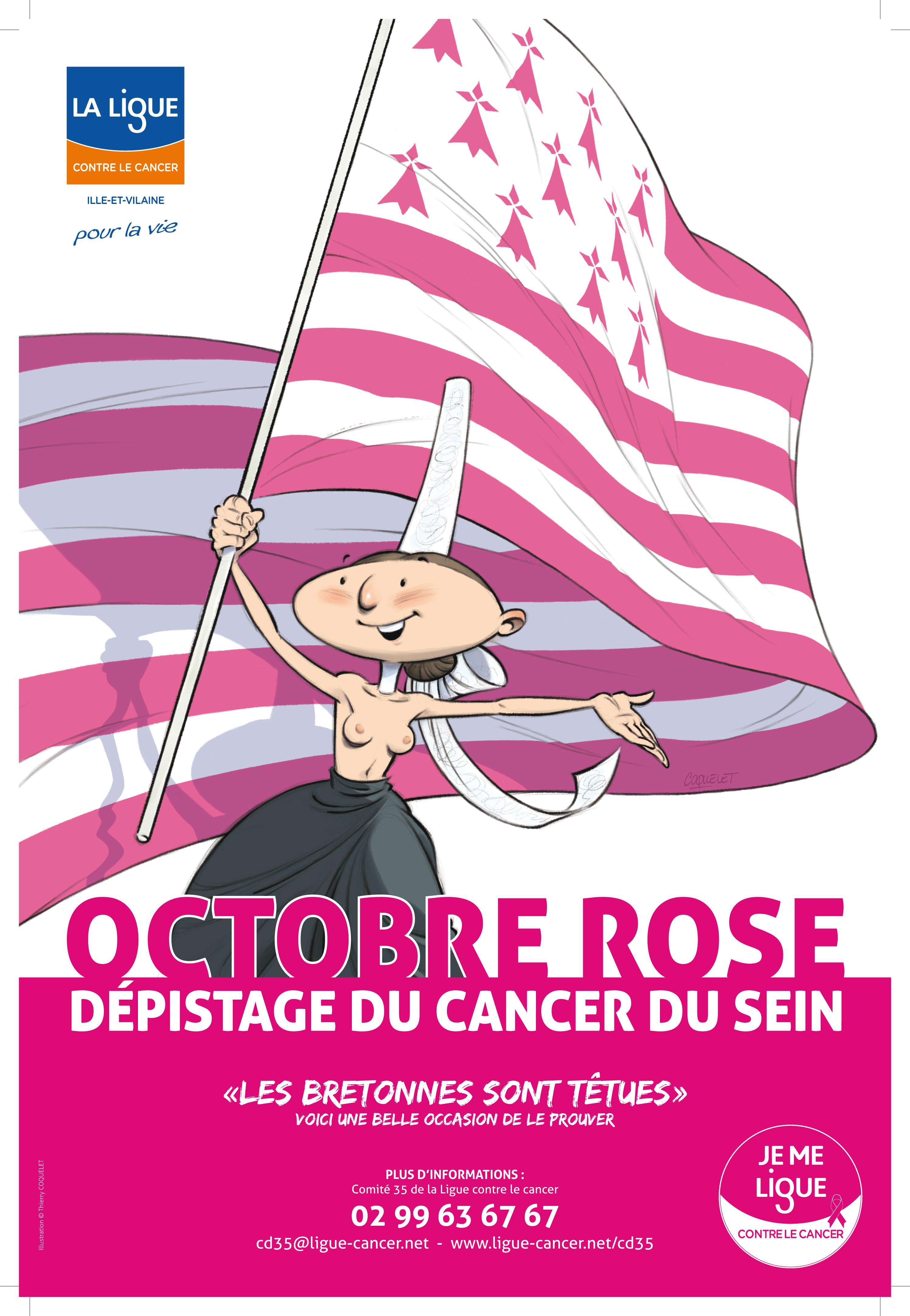 Octobre rose cancer du sein Ille et vilaine SVT