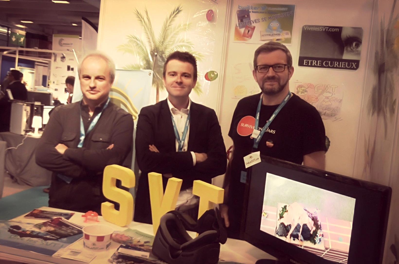 Photo salon éducation SVT
