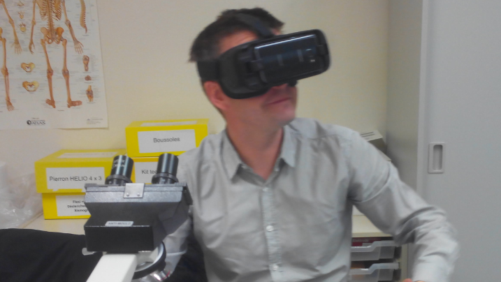 Réalité virtuelle SVT