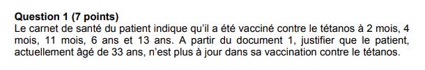 sujet SVT brevet des collèges métropole DNB 1
