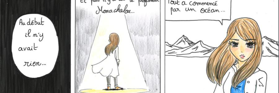 Le regard de Lousa – Les SVT en bandes dessinées !